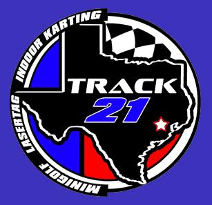 Track 21 Houston indoor karting logo small