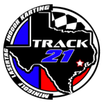 Track 21 Houston indoor karting logo small